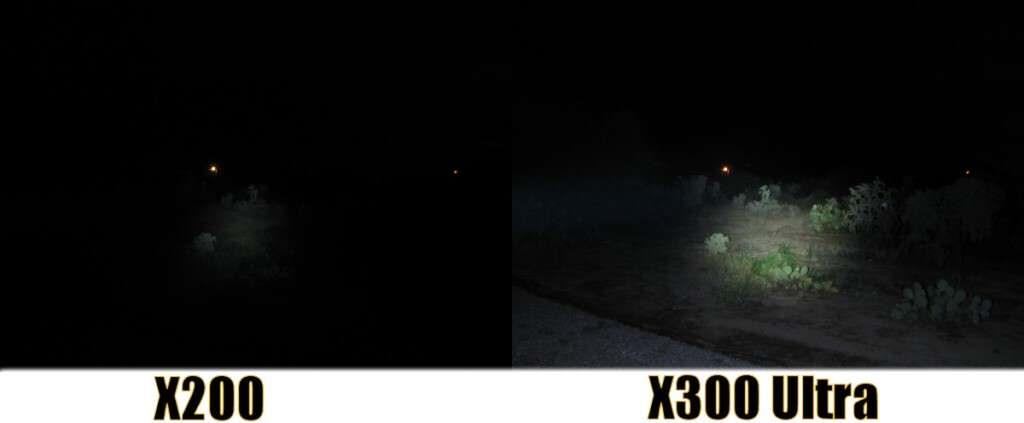SureFire X200 and X300 Ultra Comparison