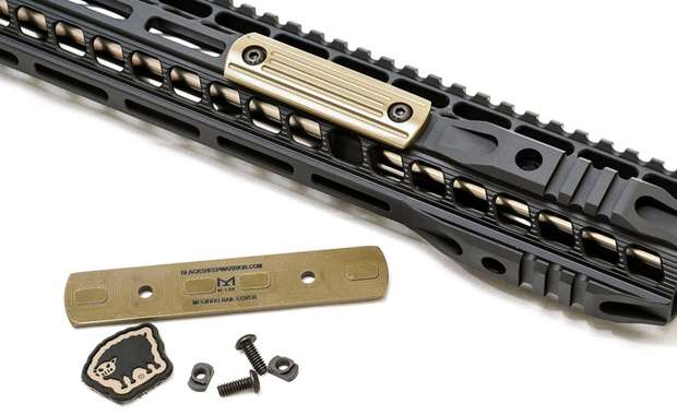 Megiddo M-LOK Rail Covers Available for Pre-Order