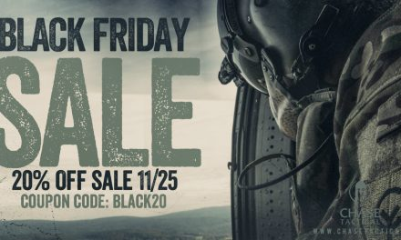 Chase Tactical Black Friday Sale!