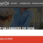 Best VA Loans? RE Factor Tactical Explains