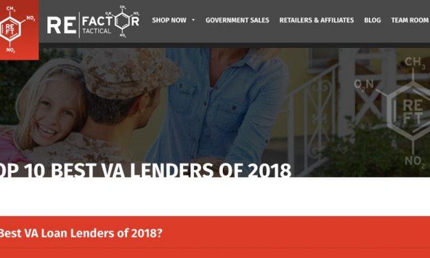 Best VA Loans? RE Factor Tactical Explains
