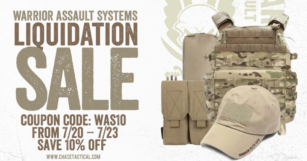 Warrior Assault Systems Liquidation Sale