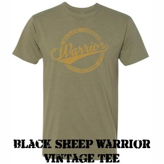 Black Sheep Warrior Vintage T-shirt