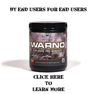 Warno Pre workout