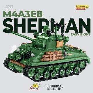 Cobi M4A3E8 Sherman Tank Set