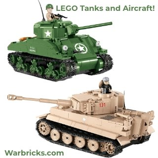LEGO Tanks and Aircraft! Made in EU