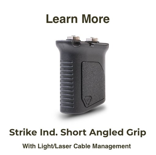 Strike Short Angled Vertical Grip W_Cable Management Best Price